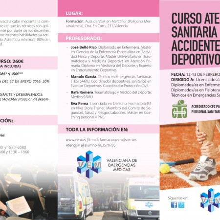 Triptico Curso accidentes deportivos